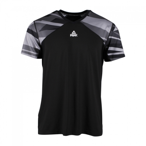 Peak Men's Cotton Short Sleeve T-Shirt for Fitness, Workout, Basketball, Sports
